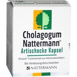 CHOLAGOGUM Nattermann Artischocke Kapsel