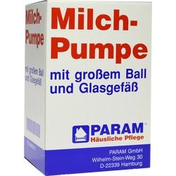MILCHPUMPE Glas+großer Ball