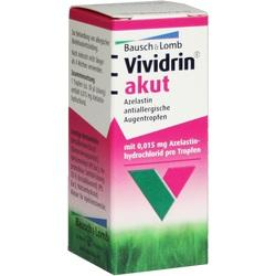 VIVIDRIN akut Azelastin antiallerg. Augentropfen